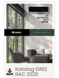 systemy klimatyzacji katalog firmy Gree 20220